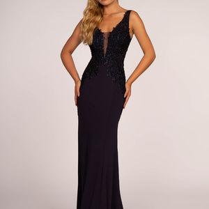 Sheath Gorgeous Long Evening Dress GL2614 NAVY